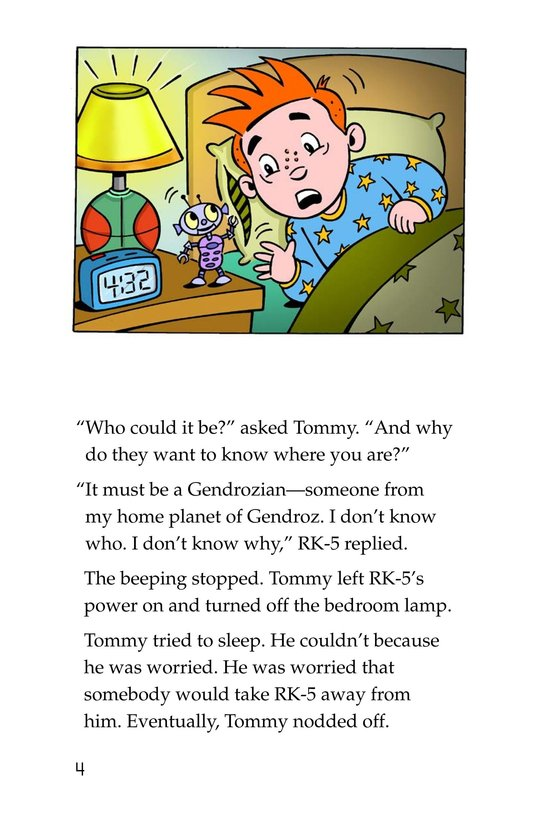 Book Preview For Tommy's Disastrous Day Page 4