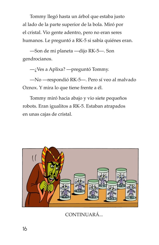Book Preview For Tommy's Disastrous Day Page 16