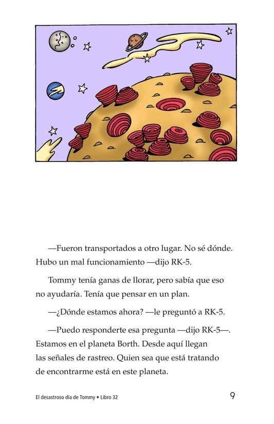 Book Preview For Tommy's Disastrous Day Page 9