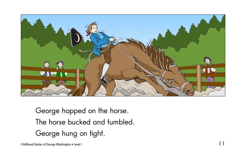 Book Preview For Childhood Stories of George Washington Page 11