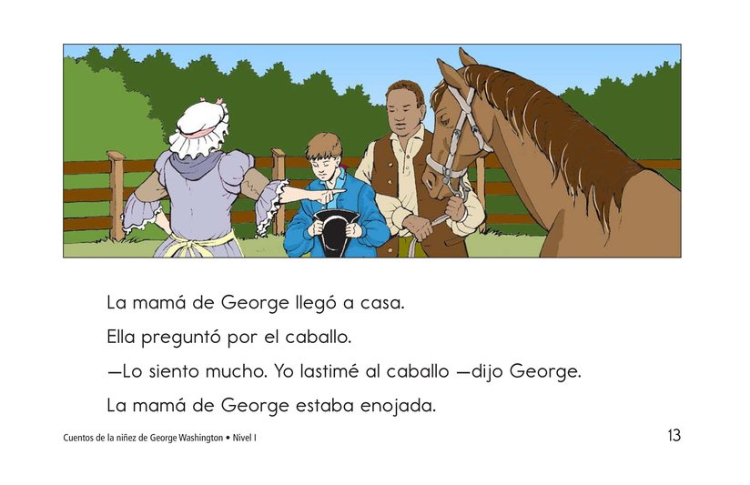 Book Preview For Childhood Stories of George Washington Page 13