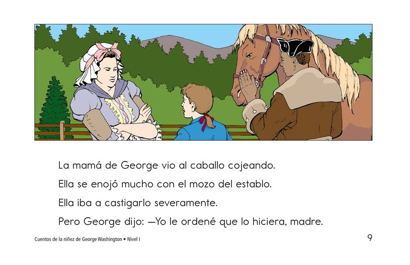 Book Preview For Childhood Stories of George Washington Page 9