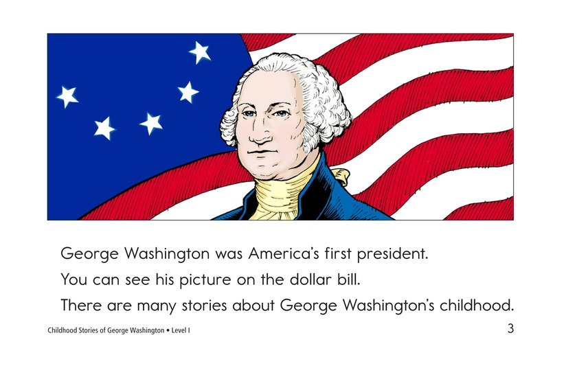 Book Preview For Childhood Stories of George Washington Page 3