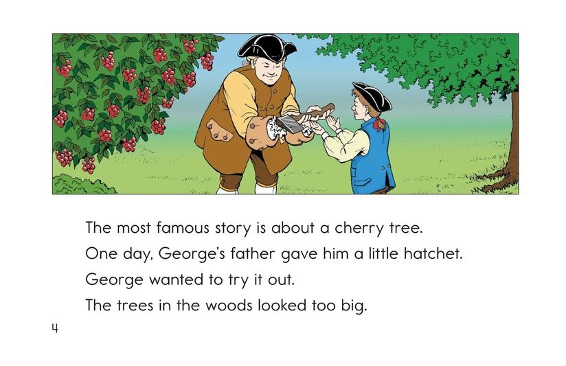 Book Preview For Childhood Stories of George Washington Page 4