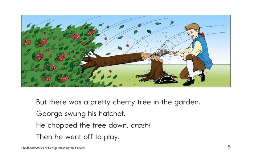 Book Preview For Childhood Stories of George Washington Page 5