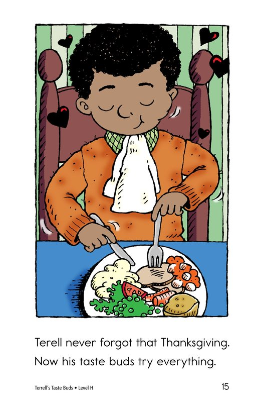Book Preview For Terell's Taste Buds Page 15