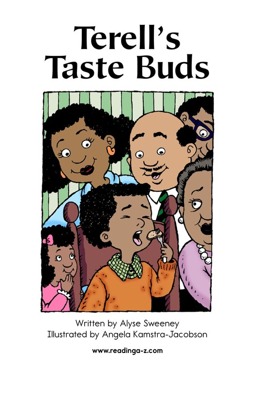 Book Preview For Terell's Taste Buds Page 2