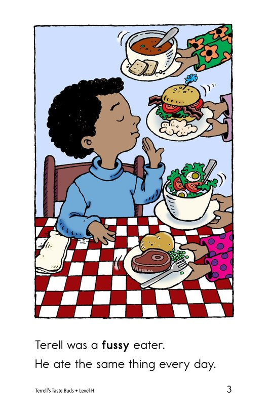 Book Preview For Terell's Taste Buds Page 3