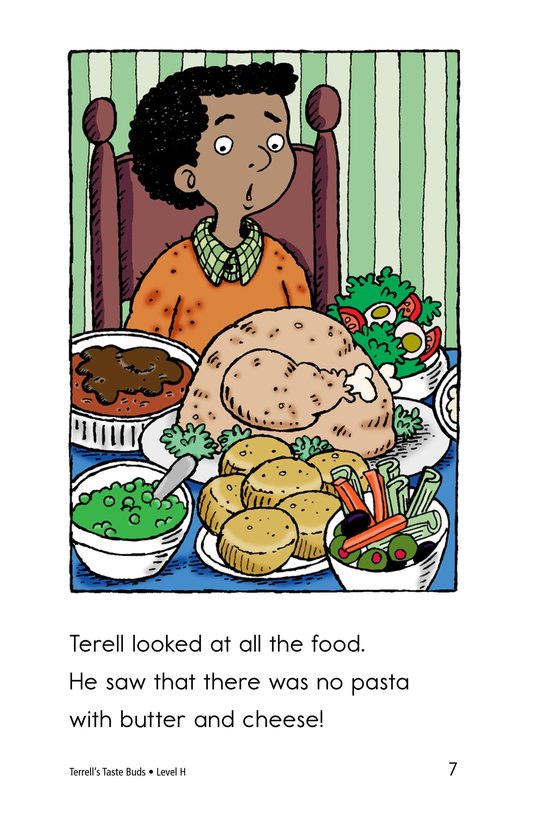 Book Preview For Terell's Taste Buds Page 7
