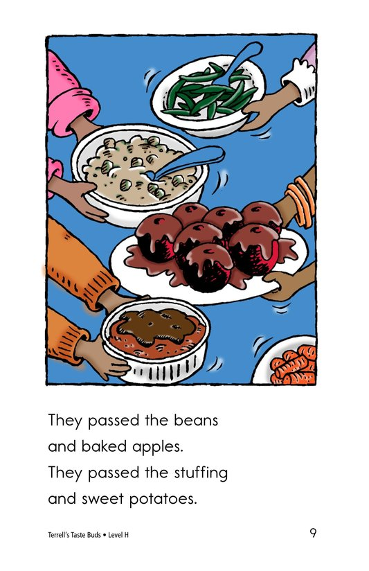 Book Preview For Terell's Taste Buds Page 9