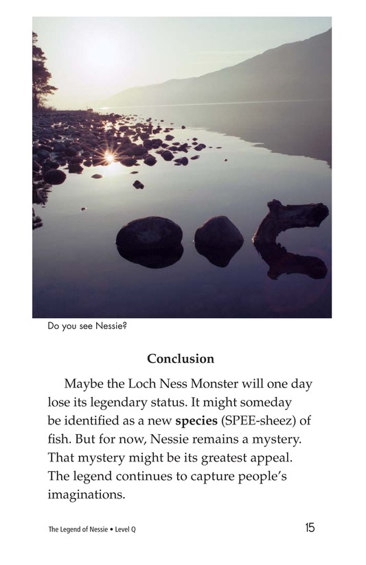 Book Preview For The Legend of Nessie Page 15