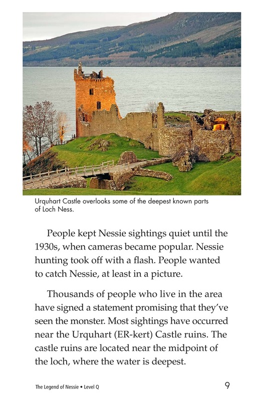 Book Preview For The Legend of Nessie Page 9