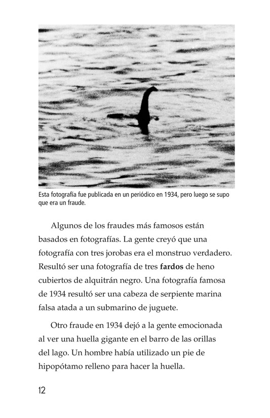 Book Preview For The Legend of Nessie Page 12