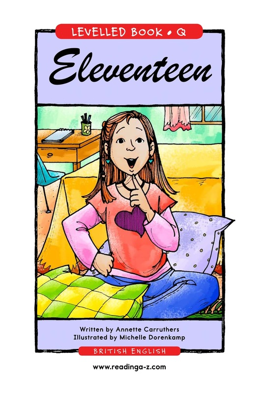 Book Preview For Eleventeen Page 1