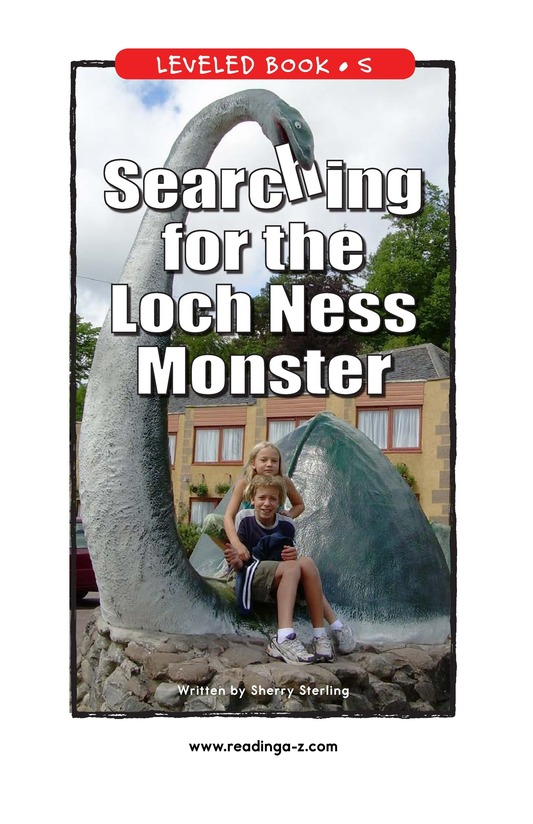 Book Preview For Searching for the Loch Ness Monster Page 1
