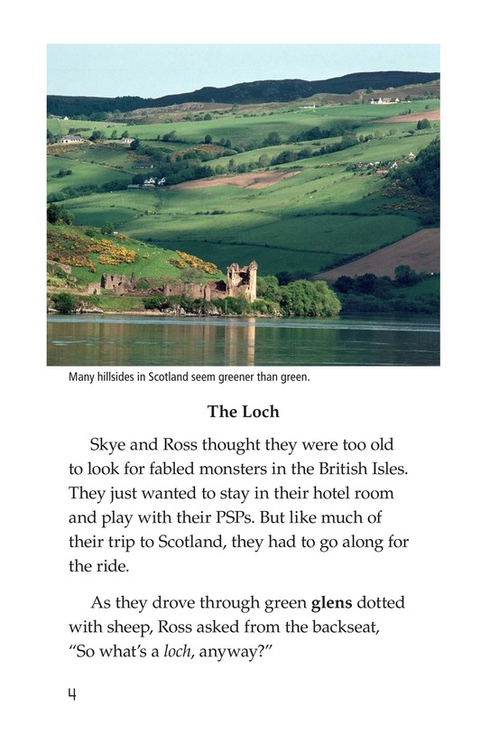 Book Preview For Searching for the Loch Ness Monster Page 4