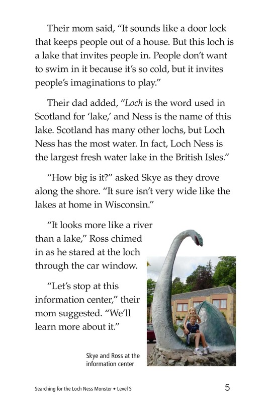 Book Preview For Searching for the Loch Ness Monster Page 5