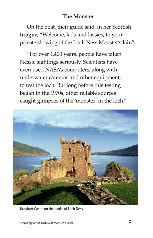 Book Preview For Searching for the Loch Ness Monster Page 9
