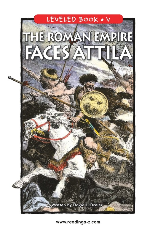 Book Preview For The Roman Empire Faces Attila Page 1