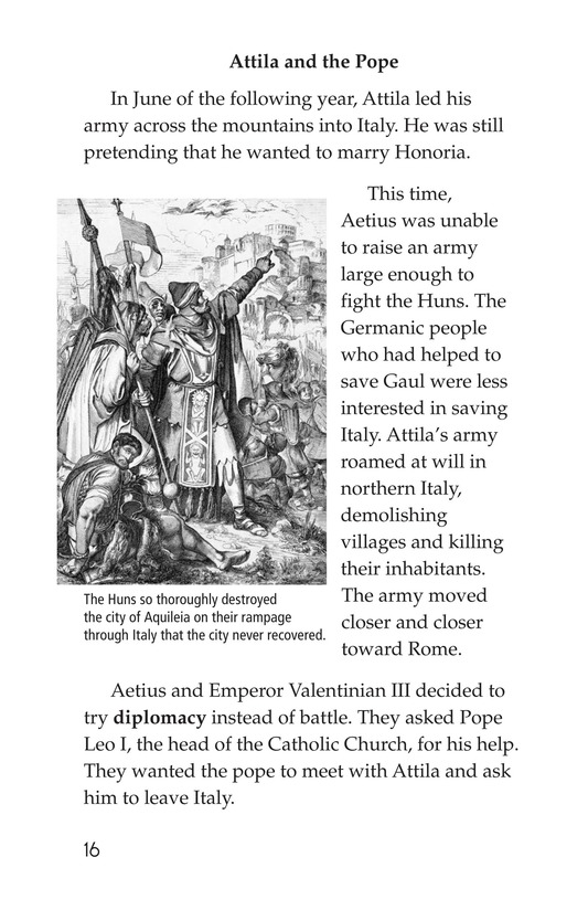 Book Preview For The Roman Empire Faces Attila Page 16