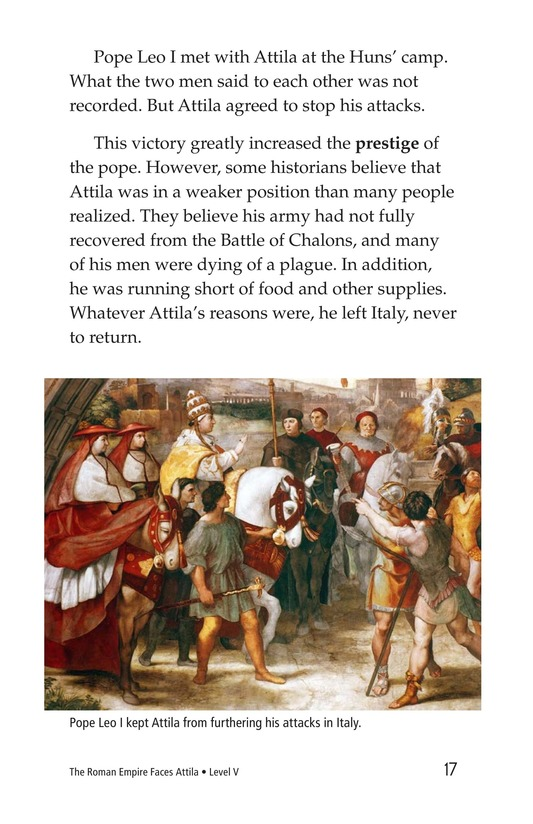 Book Preview For The Roman Empire Faces Attila Page 17