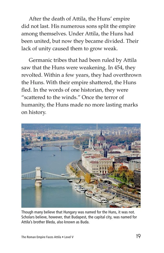 Book Preview For The Roman Empire Faces Attila Page 19