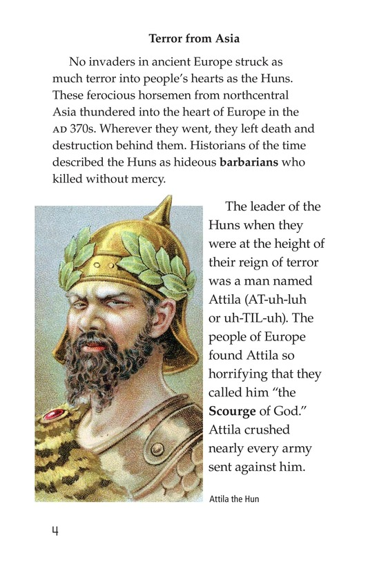 Book Preview For The Roman Empire Faces Attila Page 4
