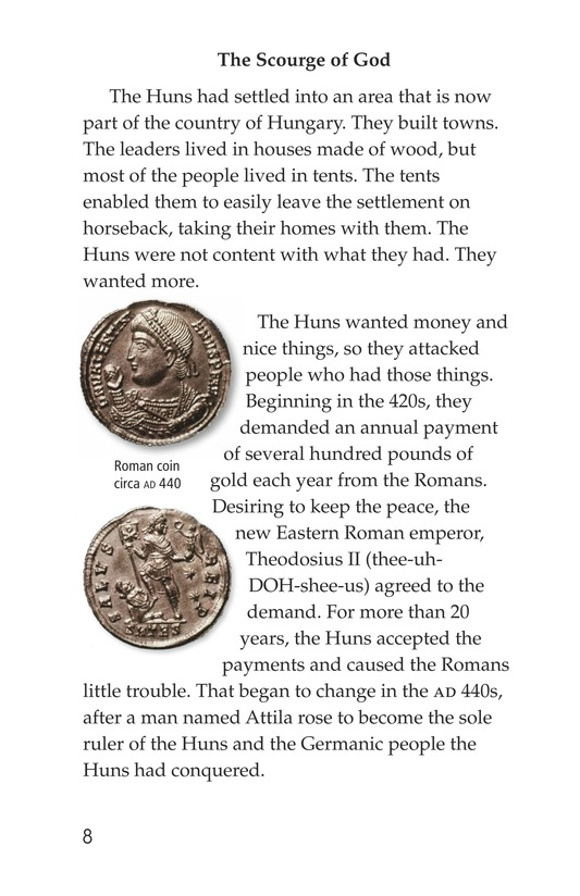 Book Preview For The Roman Empire Faces Attila Page 8