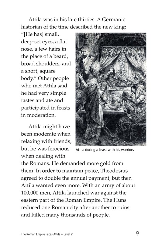 Book Preview For The Roman Empire Faces Attila Page 9