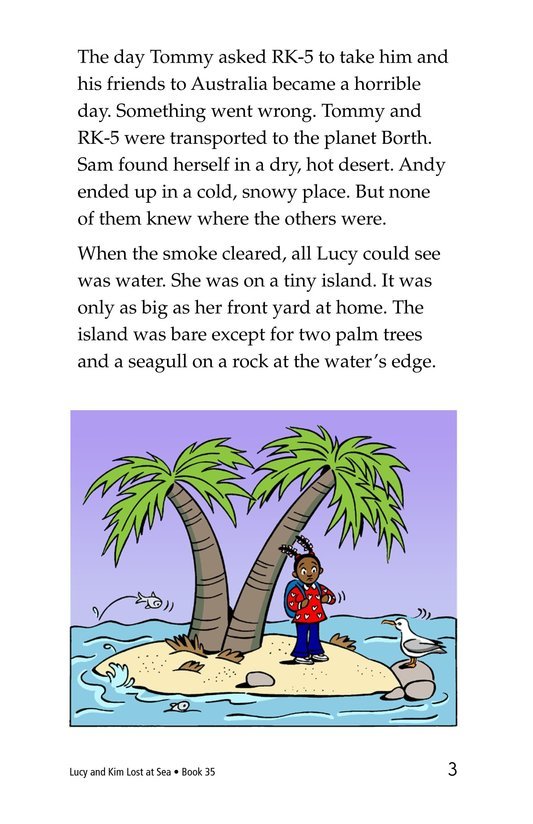 Book Preview For Lucy and Kim Lost at Sea Page 3