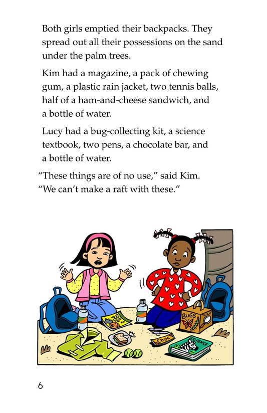 Book Preview For Lucy and Kim Lost at Sea Page 6