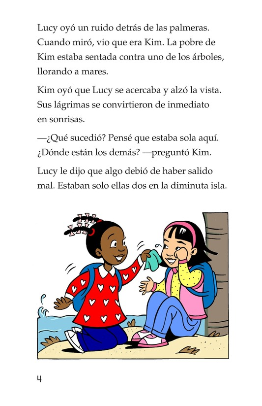 Book Preview For Lucy and Kim Lost at Sea Page 4