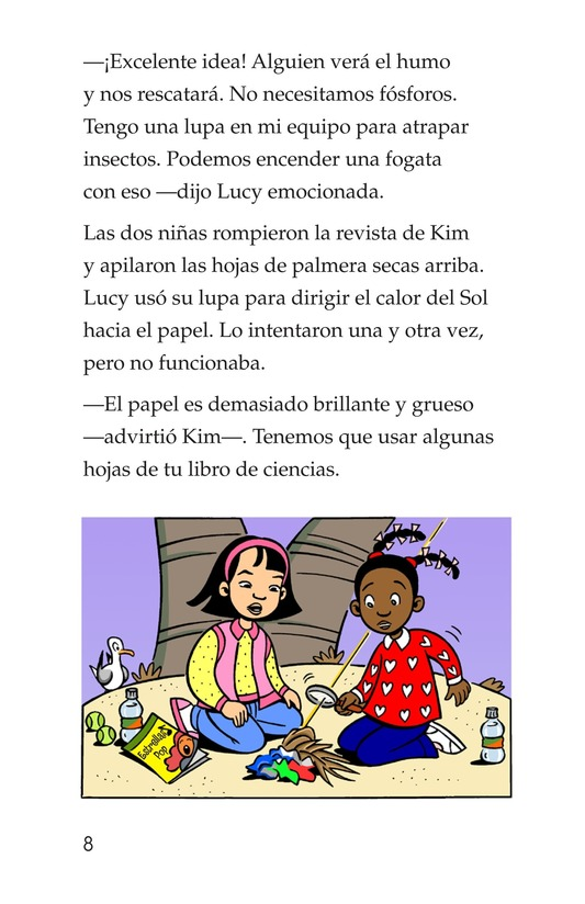 Book Preview For Lucy and Kim Lost at Sea Page 8