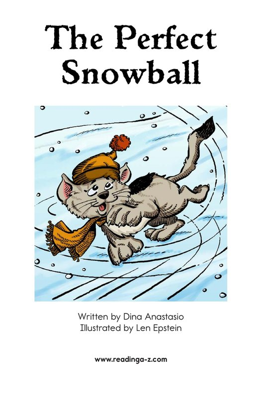 Book Preview For The Perfect Snowball Page 2