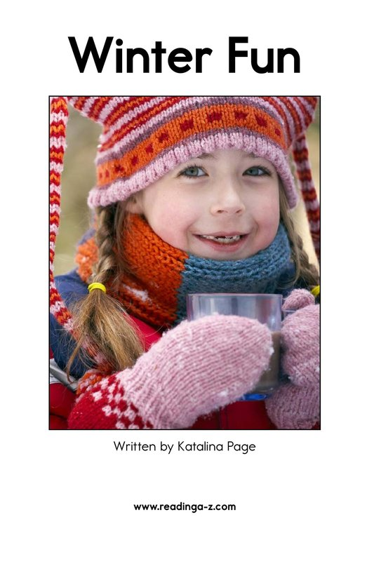 Book Preview For Winter Fun Page 2