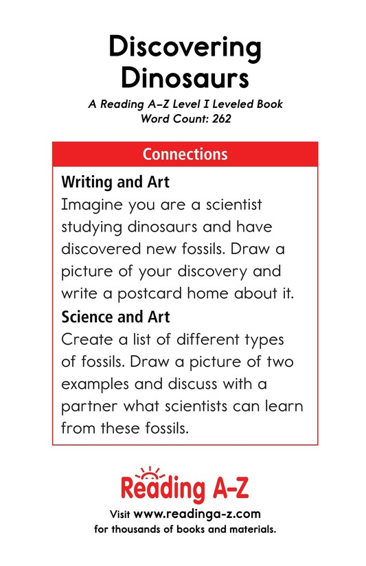 Book Preview For Discovering Dinosaurs Page 17