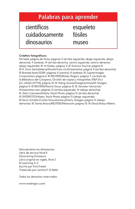 Book Preview For Discovering Dinosaurs Page 2