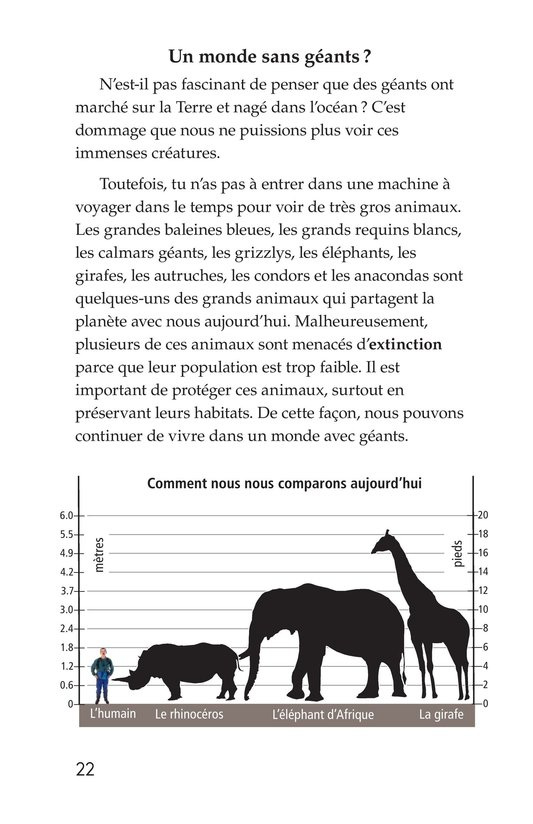 Book Preview For Prehistoric Giants (Other Than Dinosaurs) Page 22