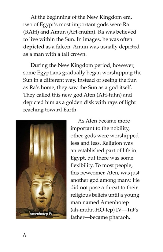 Book Preview For The Mystery of King Tut Page 6