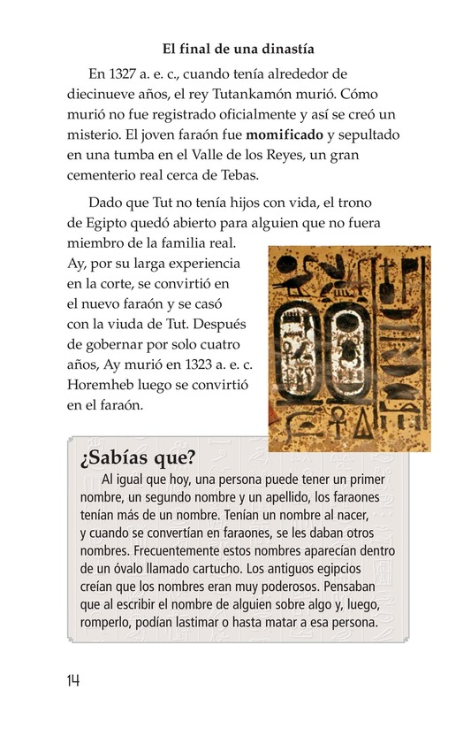 Book Preview For The Mystery of King Tut Page 14