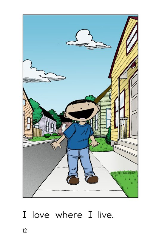 Book Preview For My Neighborhood Page 12