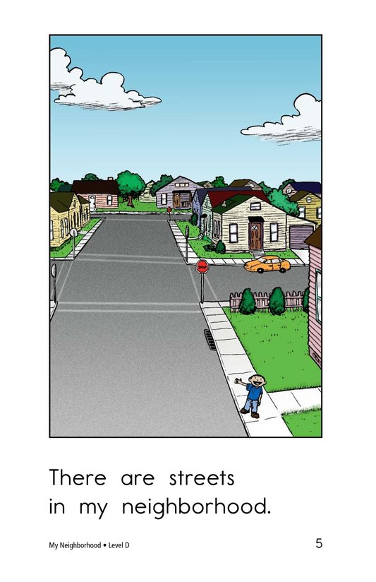 Book Preview For My Neighborhood Page 5