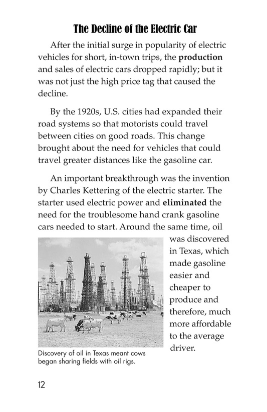 Book Preview For Electric Cars: History and Future Page 12