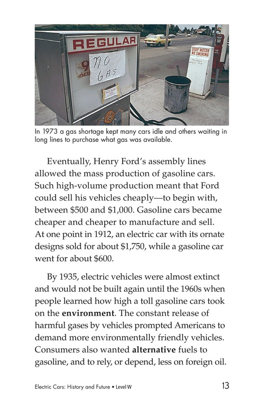 Book Preview For Electric Cars: History and Future Page 13
