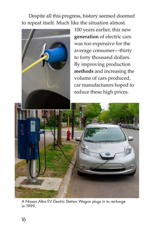 Book Preview For Electric Cars: History and Future Page 16