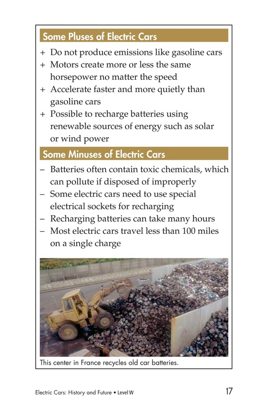 Book Preview For Electric Cars: History and Future Page 17