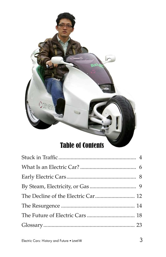 Book Preview For Electric Cars: History and Future Page 3