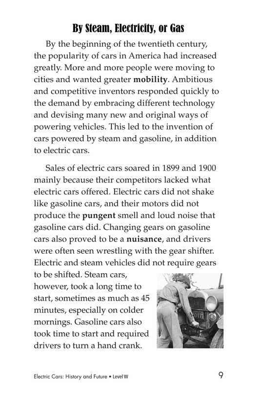Book Preview For Electric Cars: History and Future Page 9
