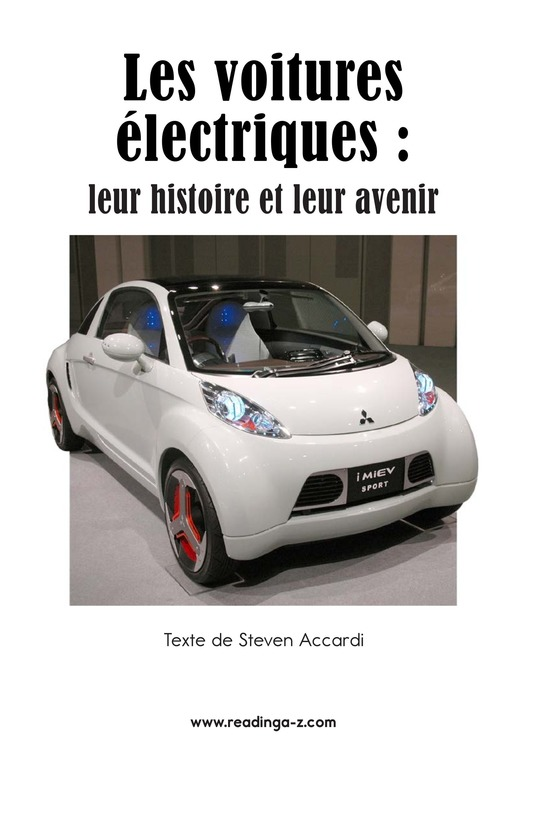Book Preview For Electric Cars: History and Future Page 2