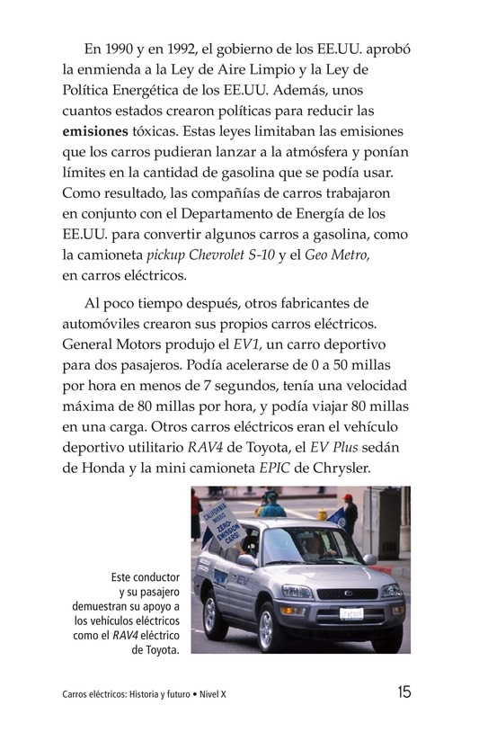 Book Preview For Electric Cars: History and Future Page 15